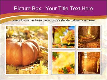 Halloween pumpkin PowerPoint Template - Slide 19