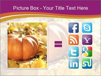 Halloween pumpkin PowerPoint Template - Slide 21