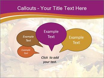 Halloween pumpkin PowerPoint Template - Slide 73