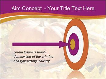 Halloween pumpkin PowerPoint Template - Slide 83