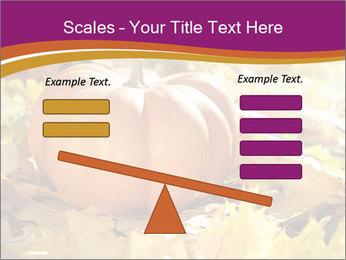 Halloween pumpkin PowerPoint Template - Slide 89