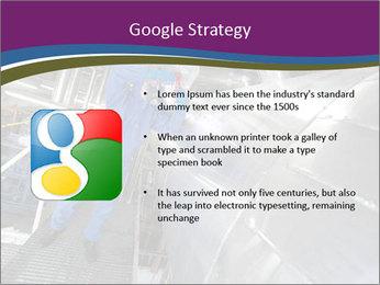 Technician in mask PowerPoint Template - Slide 10