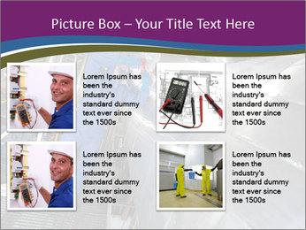 Technician in mask PowerPoint Template - Slide 14