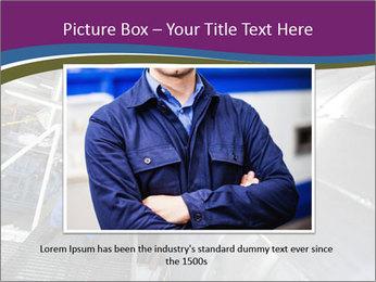 Technician in mask PowerPoint Template - Slide 16