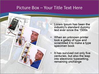 Technician in mask PowerPoint Template - Slide 17