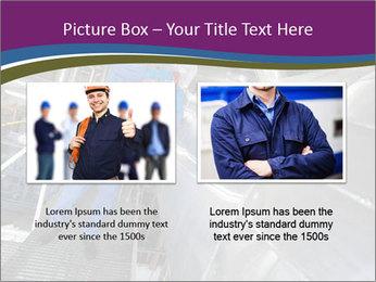 Technician in mask PowerPoint Template - Slide 18