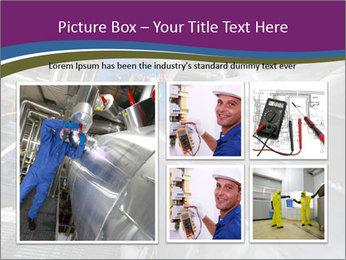 Technician in mask PowerPoint Template - Slide 19