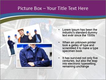 Technician in mask PowerPoint Template - Slide 20