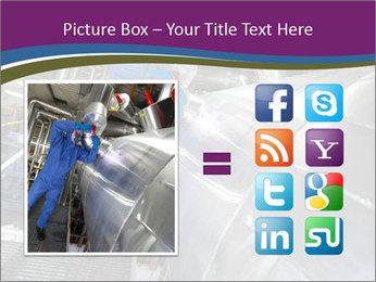 Technician in mask PowerPoint Template - Slide 21
