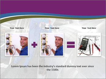 Technician in mask PowerPoint Template - Slide 22