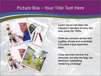 Technician in mask PowerPoint Template - Slide 23