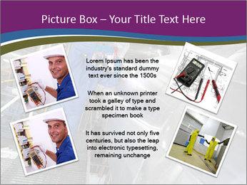 Technician in mask PowerPoint Template - Slide 24