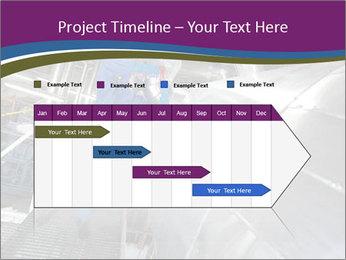 Technician in mask PowerPoint Template - Slide 25