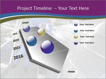 Technician in mask PowerPoint Template - Slide 26