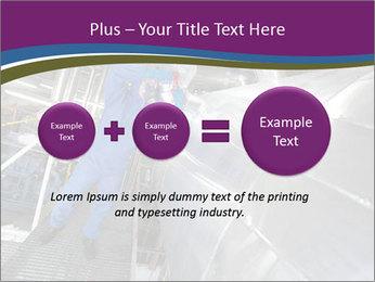 Technician in mask PowerPoint Template - Slide 75