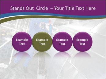 Technician in mask PowerPoint Template - Slide 76