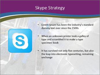 Technician in mask PowerPoint Template - Slide 8