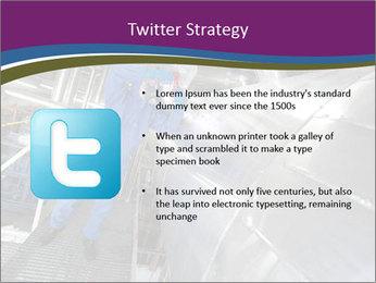 Technician in mask PowerPoint Template - Slide 9