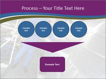 Technician in mask PowerPoint Template - Slide 93