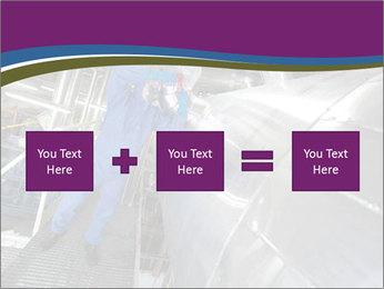 Technician in mask PowerPoint Template - Slide 95