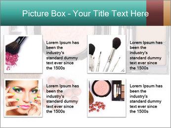 Makeup brush PowerPoint Template - Slide 14