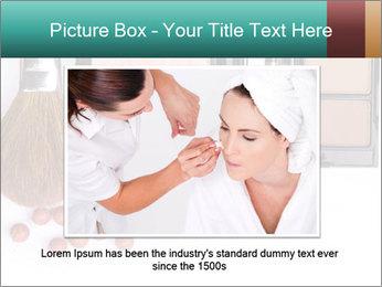 Makeup brush PowerPoint Template - Slide 16
