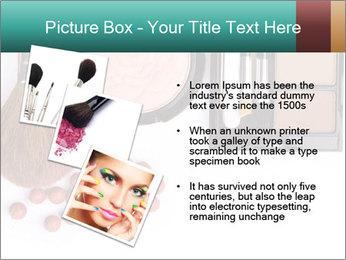 Makeup brush PowerPoint Template - Slide 17
