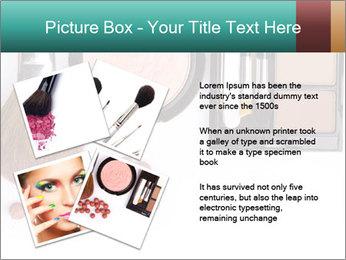 Makeup brush PowerPoint Template - Slide 23