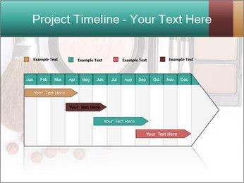 Makeup brush PowerPoint Template - Slide 25