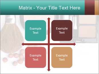 Makeup brush PowerPoint Template - Slide 37