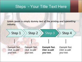 Makeup brush PowerPoint Template - Slide 4