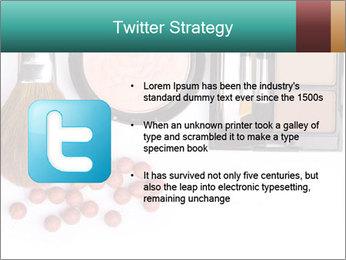 Makeup brush PowerPoint Template - Slide 9
