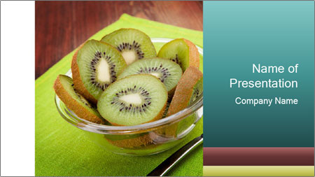 Kiwi PowerPoint Template - Slide 1