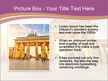 Berlin at sunset PowerPoint Template - Slide 13