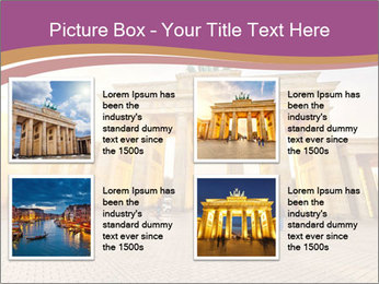 Berlin at sunset PowerPoint Template - Slide 14