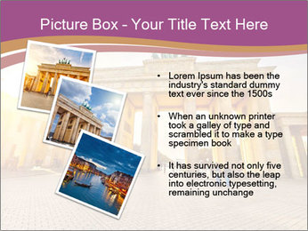 Berlin at sunset PowerPoint Template - Slide 17