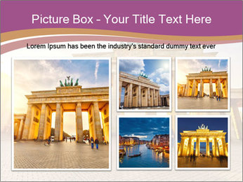 Berlin at sunset PowerPoint Template - Slide 19
