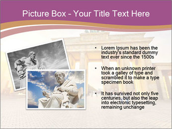 Berlin at sunset PowerPoint Template - Slide 20