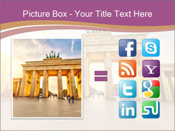 Berlin at sunset PowerPoint Template - Slide 21