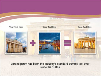 Berlin at sunset PowerPoint Template - Slide 22