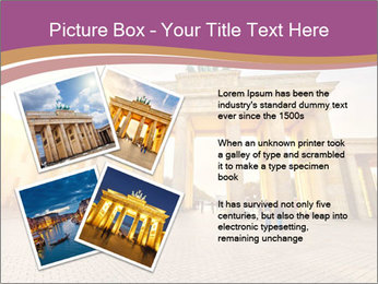 Berlin at sunset PowerPoint Template - Slide 23