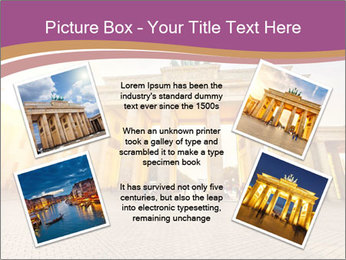 Berlin at sunset PowerPoint Template - Slide 24