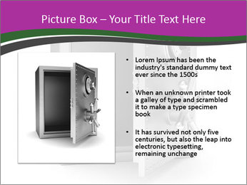 Security metal safe PowerPoint Template - Slide 13