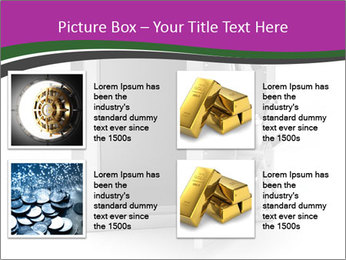 Security metal safe PowerPoint Template - Slide 14