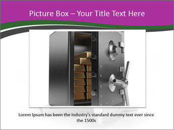 Security metal safe PowerPoint Template - Slide 16