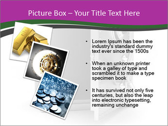 Security metal safe PowerPoint Template - Slide 17