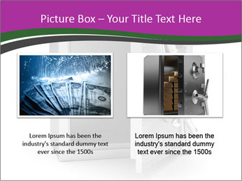 Security metal safe PowerPoint Template - Slide 18