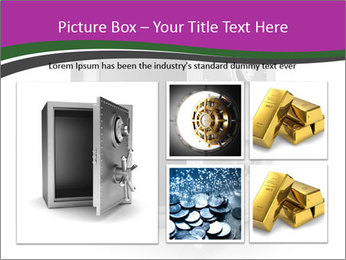 Security metal safe PowerPoint Template - Slide 19