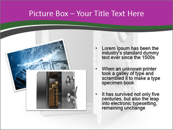 Security metal safe PowerPoint Template - Slide 20