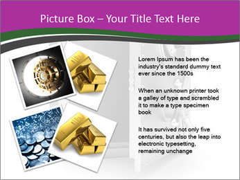 Security metal safe PowerPoint Template - Slide 23